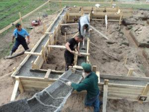 Как делается расчет бетона на фундамент