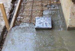 Накладка нового слоя бетона на старый