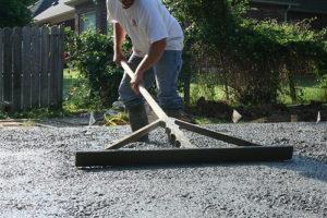 Как делается укладка бетона на бетон