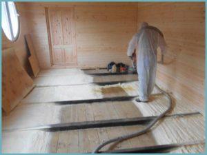 Как делается утепление бетонного пола в частном доме своими руками