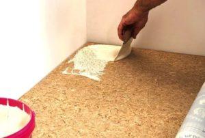 положить линолеум на бетонный пол