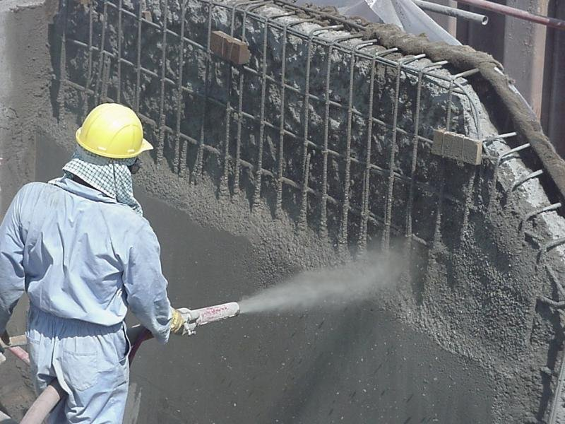 конструкционный ремонт бетона