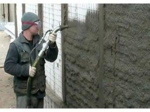 торкретирования бетона