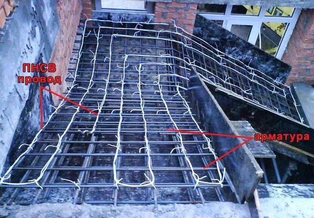 Виды электропрогрева бетона коронка алмазная по бетону 68 мм купить