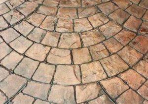 Печатный бетон картинки сколько цементного раствора на 1 м3